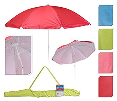 Sonnenschirm Stantschirm Sonnenschutz Schirm UV Strandschirm knickbar 160 cm von Meinposten bei Gartenmöbel von Du und Dein Garten