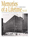 img - for Memories of a Lifetime, Volume III book / textbook / text book