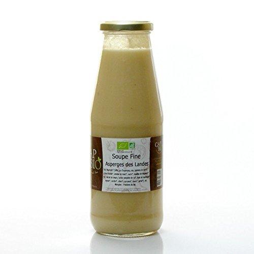 Soupe Fine d'Asperges blanches, 72 cl, CAP BIO