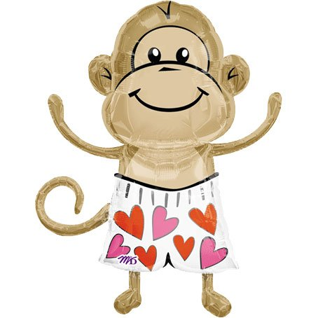Love Monkey Super Shape (1 per package)