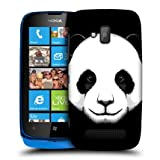 Head Case Panda Big Face Illustrated Design Back Case Cover For Nokia Lumia 610