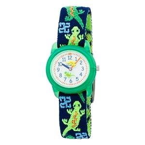 Timex Kids' T72881 Geckos Stretch Band Watch