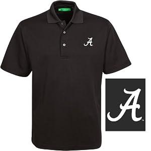 NCAA Alabama Crimson Tide Mens Castlebar Polo Shirt by Oxford