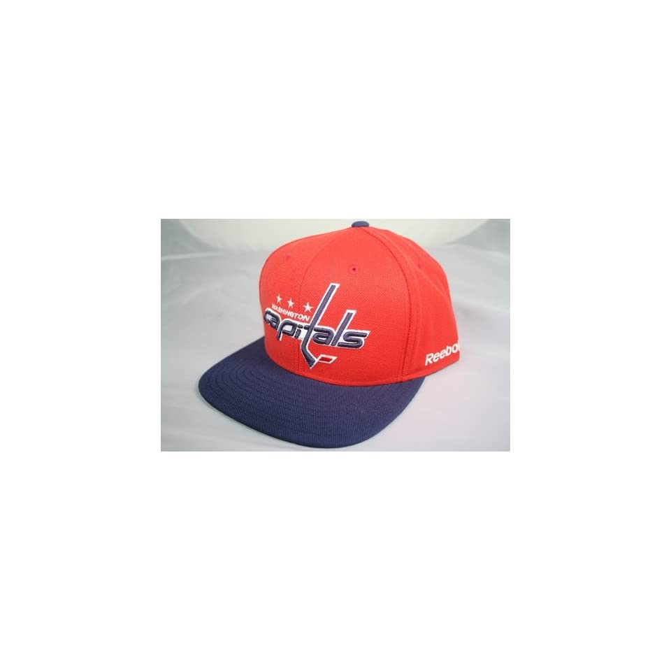 0ca1bb80ada Washington Capitals NHL Retro Vintage Snap back Hat on PopScreen