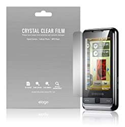 elago Crystal Clear Screen Protection Film for Samsung Omnia i900 + Microfiber Cleaner