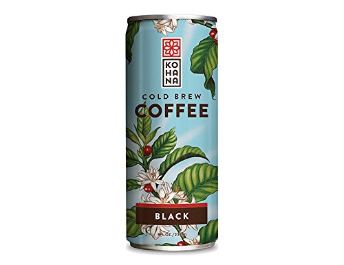 Kohana Coffee Cold Brew Coffee, Sweet Black, 8 Ounce (Pack of 12)