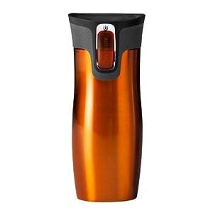 Contigo Westloop Autoseal Thermobecher, 470 ml, Tangerine