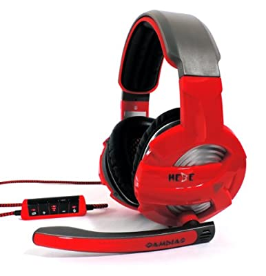 GAMDIAS Hebe V1 GHS3300 USB Virtual Surround Sound 7.1 Gaming Headset, Smart In-Line Remote, Rotating Microphone Boom