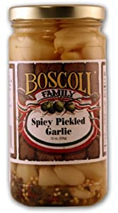 BOSCOLI Spicy Pickled Garlic by BOSCOLI Spicy Pickled Garlic