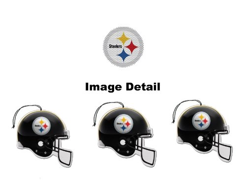 Pittsburgh Steelers NFL Team Logo Car Truck SUV Home Office Paper Air Freshener - 3 PACK SET at SteelerMania