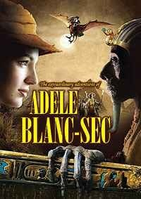 The Extraordinary Adventures of Adele Blanc-Sec [France, 2010] DVD