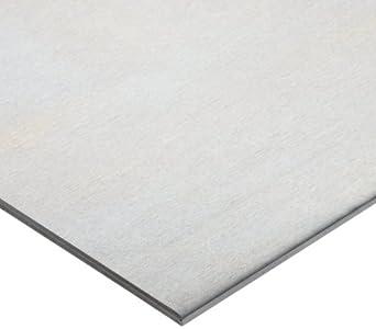 6061 Aluminum Sheet, Unpolished (Mill) Finish, T6 Temper, Standard Tolerance, Inch, ASTM B209