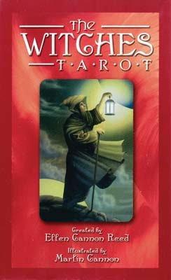 Witches tarot deck (red) (DWITTAR) -