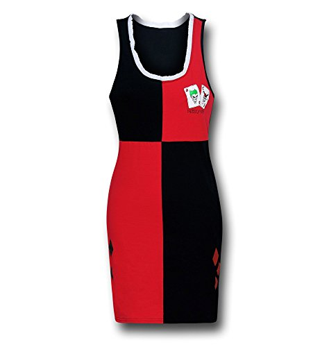 Harley Quinn Glitter Women's Costume Sleep Tank Dress