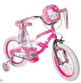 Bikes With Training Wheels For Girls Hello Kitty Girls Bike