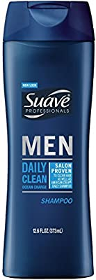 Suave Men Professionals Shampoo, Daily Clean Ocean Charge 12.6 oz