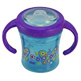 Gerber Graduates Advance With Seal Zone 2 Handle Trainer Spout Sippy Cup, 7 Ounce, Assorted Colors