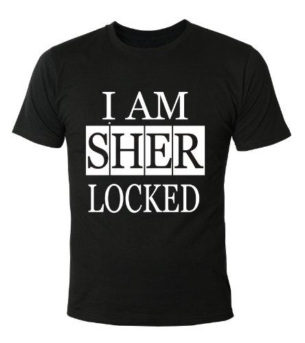 Mister Merchandise T-Shirt I am Sherlocked - Uomo Maglietta S-XXL - Molti Colori