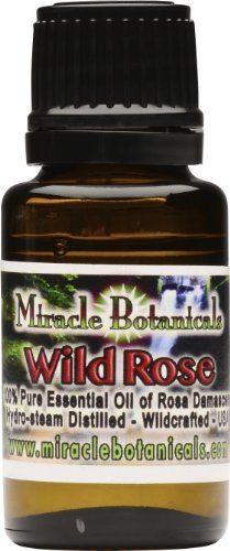 Rose Essential Oil - (100% Pure Rosa Damascena) 15ml (.5oz)