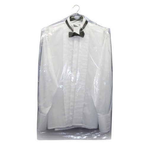 Hangerworld Pack of 15 Clear Polythene Garment Cover Clothes Bags - 38 Inches (Disposable Plastic Garment Bags compare prices)