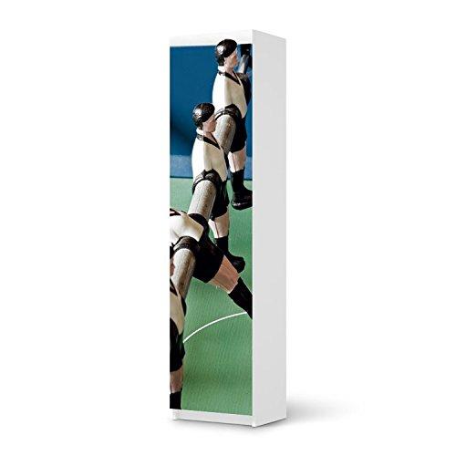 Möbel-Aufkleber IKEA Pax Schrank 201 cm Höhe – 1 Tür / Design Sticker Kicker / selbstklebende Dekoration günstig