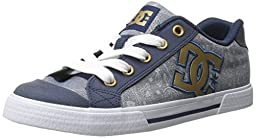 DC Women\'s Chelsea SE Skate Shoe, Insignia Blue, 6.5 M US