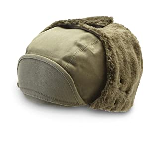 French Army Field Hat For Cold Weather, Medium by