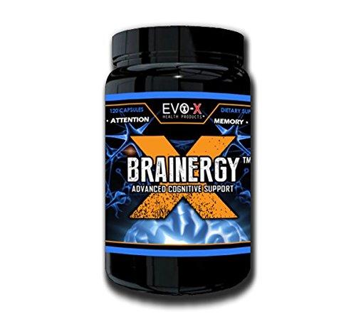 Brainergy-X (120 Capsules): énergie, Focus,