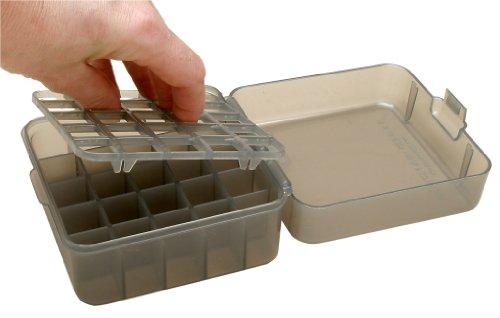 MTM Multi Gauge 25 Round Shotshell Box (Clear Smoke) (Shotshell Box compare prices)