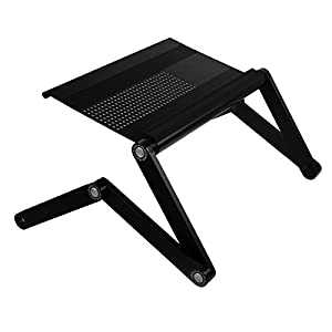 Furinno Ergonomic Aluminum Vented Adjustable Laptop Desk/Bed Tray by Furinno