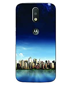 Aart Designer Luxurious Back Covers for Moto G4 Plus with Stylish Zipper Hand free by Aart Store