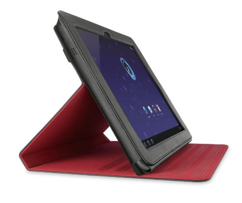 Belkin Fuse Folio Stand for 10.1-Inch Samsung Galaxy Tab - Midnight Red (F8M163ebC01)