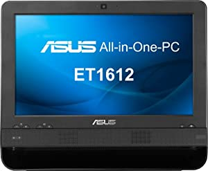 Asus EeeTop ET1612IUTS-B006M 39,6 cm (15,6 Zoll) Desktop-PC (Intel celeron 847, 1,1GHz, 2GB RAM, 320GB HDD, DOS)