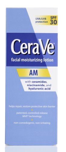 CeraVe CeraVe Moisturizing Facial Lotion AM, 3 Ounce