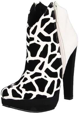 Michael Antonio Women's Melati Ankle Boot,White Stone,6 M US