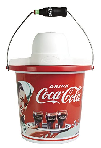 Nostalgia ICMP400COKE Coca-Cola Limited Edition 4-Quart Ice Cream Maker (4 Quart Icecream Maker compare prices)