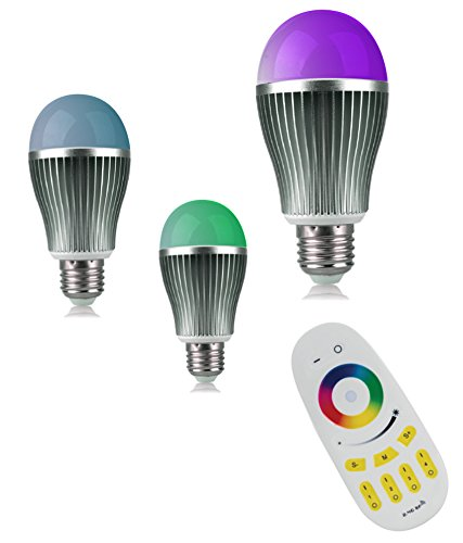 LED Bulb PRISM-With Wireless Remote controlled (256 Colors, Pack of 3)