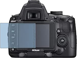 Premium Clear LCD Screen Protector for Nikon D5000 D5000DX