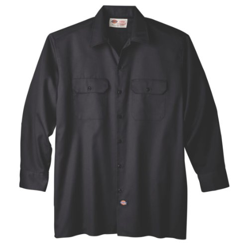 dickies-mens-long-sleeve-work-shirt-black-large