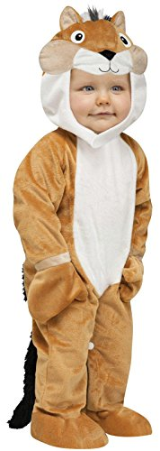 Chipper Chipmunk Costume For Babies