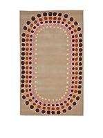 Tapis a Porter Alfombra Home Art Mh 2858/05 Beige/Multicolor 120 x 180 cm