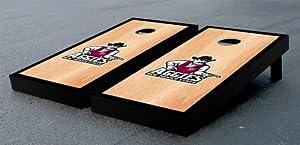 New Mexico State Aggies Cornhole Game Set Hardcourt Wooden Version by Gameday Cornhole