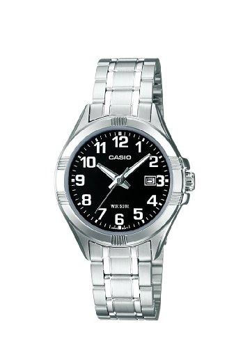CASIO LTP1308D1BVEF - Reloj de mujer de cuarzo, correa de acero inoxidable color plata