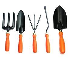 Samsan Steel GTS Garden Tool Set (Orange)