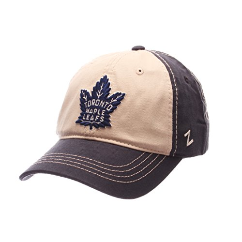 NHL Toronto Maple Leafs Men's Sigma Relaxed Cap, Adjustable, Navy/Stone (Toronto Cap compare prices)