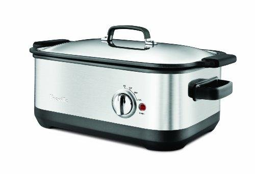 BREVILLE SLOW COOKER STAINLESS-STEEL 7-QUART