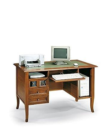 Lo Scrigno Arredamenti, Porta computer 4 cassetti piano estraibile Classico W203/N