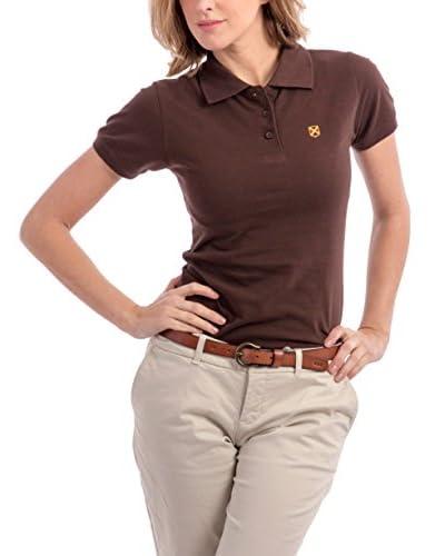 ZZ_POLO CLUB Poloshirt Miss M/C braun