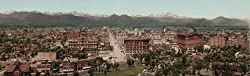 Denver, Colorado, 1898 - Exceptional 16x20-inch print of vintage color photochrome from the Library of Congress Collection