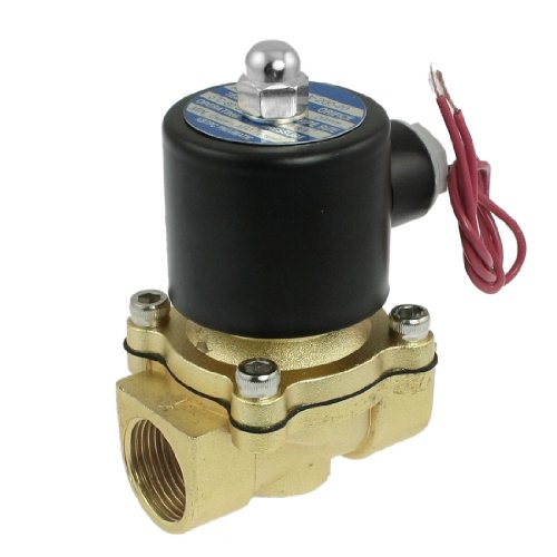 """Nc 3/4"""" Port 2 Position 2 Way Water Air Oil Electric Solenoid Valve"""